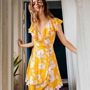 NWT Free People French Quarter Wrap Dress